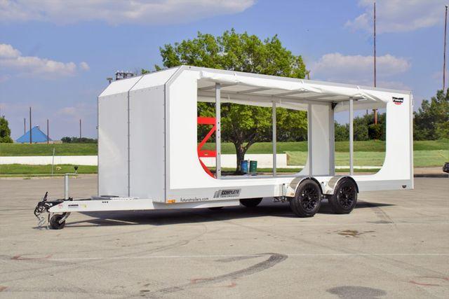 2020 Futura Enclosed Super Tourer Pro Drop Deck Trailer
