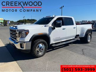 2020 GMC Sierra 3500HD SLT 4x4 Diesel Dually White Leveled New Tires NICE in Searcy, AR 72143
