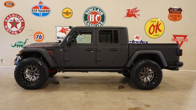2020 Jeep Gladiator Rubicon 4X4 DUPONT KEVLAR,LIFTED,LED'S,FUEL WHLS in Carrollton, TX 75006