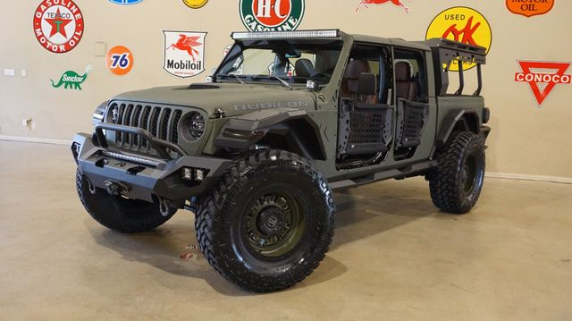 2020 Jeep Gladiator Rubicon 4X4 FAB FOURS,DUPONT KEVLAR,LIFTED,LED'S