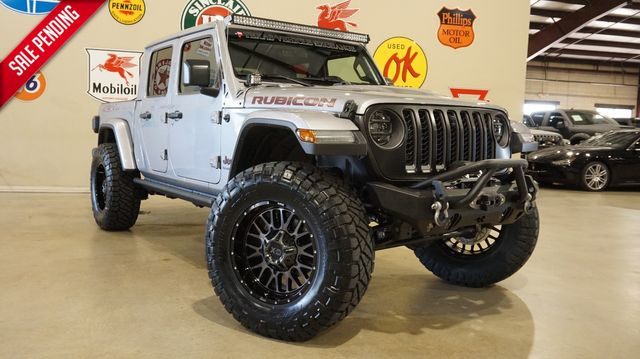 2020 Jeep Gladiator Rubicon 4X4 LIFTED,LED'S,NAV,HTD LTH,XD WHLS