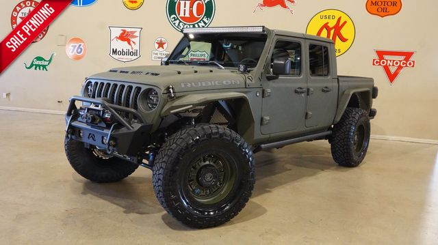 2020 Jeep Gladiator Rubicon 4X4 DUPONT KEVLAR,LIFTED,BUMPER'S,LED'S