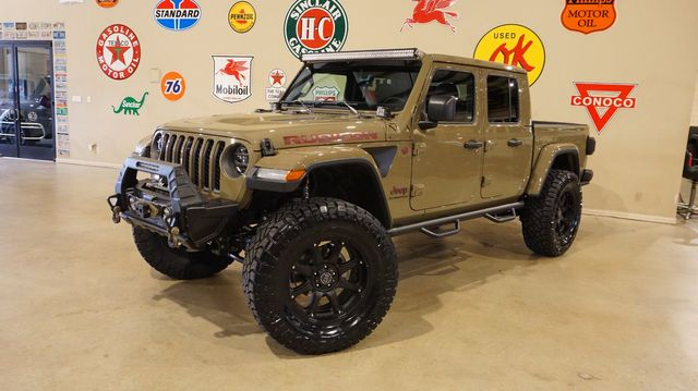 2020 Jeep Gladiator Rubicon 4X4 LIFTED,LED'S,NAV,HTD LTH,20IN WHLS