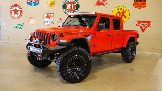 2020 Jeep Gladiator Rubicon 4X4 LIFTED,LED'S,NAV,HTD LTH,FUEL WHLS