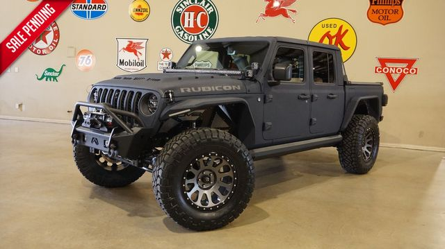 2020 Jeep Gladiator Rubicon 4X4 DUPONT KEVLAR,LIFTED,LED'S,FUEL WHLS