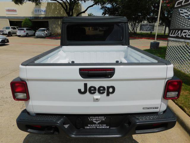 2020 Jeep Gladiator Sport 4x4, Automatic, Step Rails, Black Alloys 14k in Dallas, Texas 75220