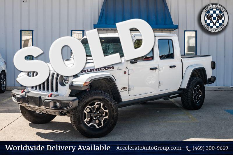 2020 Jeep Gladiator 3.6L V6 Rubicon Nav 3-Piece Hard Top 1-Owner NICE! in Rowlett Texas