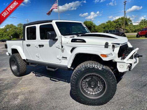 2020 Jeep Gladiator GLADIATOR CUSTOM LIFTED LEATHER DV8 OCD in Plant City, Florida