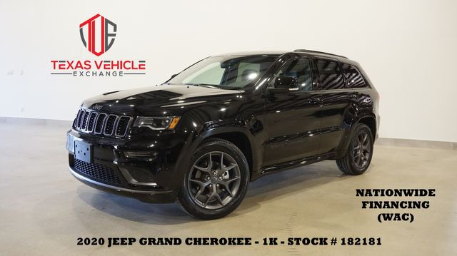 2020 Jeep Grand Cherokee Limited X MSRP 48K,ROOF,NAV,HTD LTH,20'S,1K