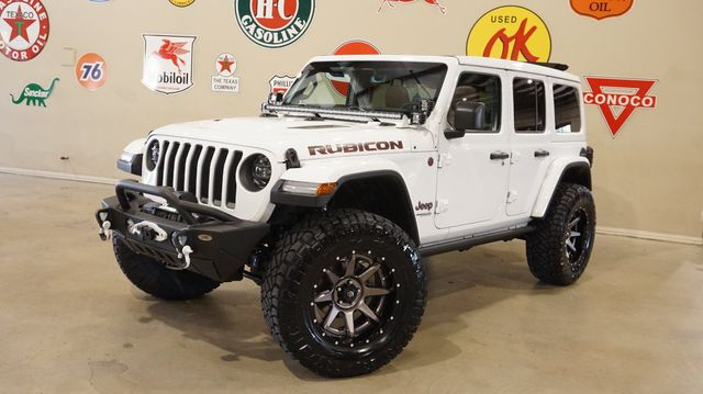 2020 Jeep Wrangler JL Unlimited Rubicon 4X4 SKY TOP,LIFTED,LED'S,FUEL WHLS