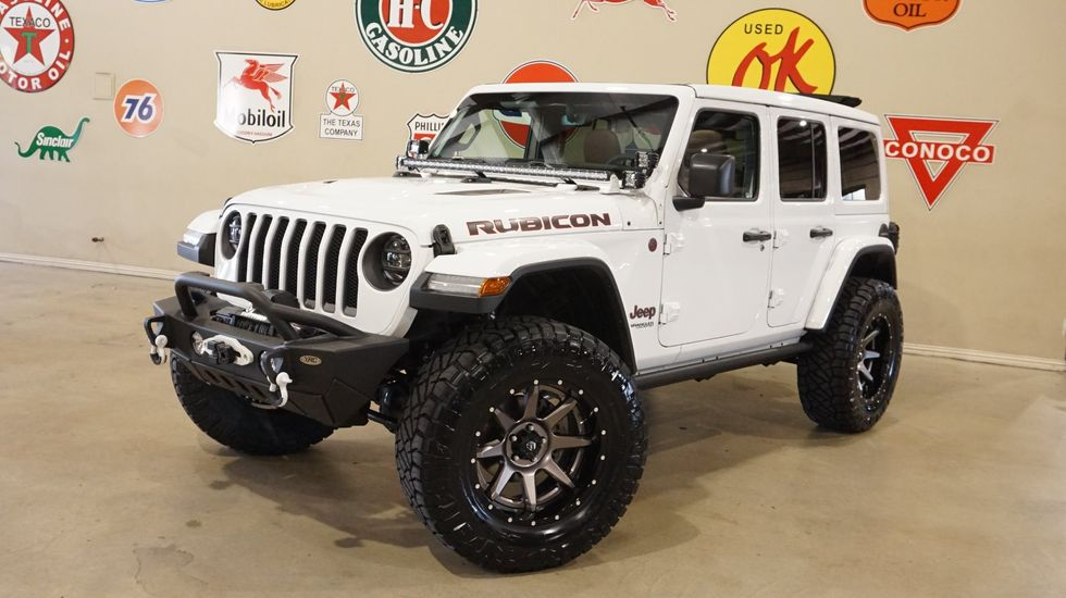 2020 Jeep Wrangler Jl Unlimited Rubicon 4x4 Sky Top Lifted Led S Fuel Whls Carrollton Tx Texas Vehicle Exchange