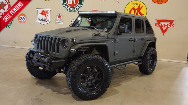 2020 Jeep Wrangler JL Unlimited Rubicon 4X4 DUPONT KEVLAR,SLANT BACK,LIFT,LED'S