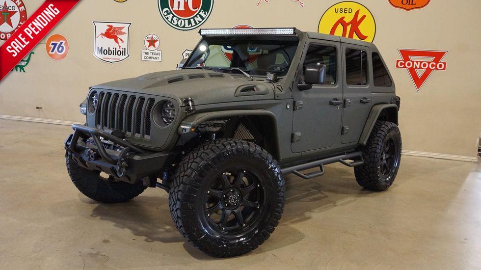 2020 Jeep Wrangler Jl Unlimited Rubicon 4x4 Dupont Kevlar Slant Back Lift Led S Carrollton Tx Texas Vehicle Exchange
