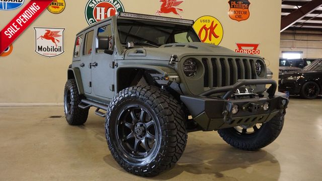 2020 Jeep Wrangler JL Unlimited Sport 4X4 DUPONT KEVLAR,LIFTED,LED'S,20IN WHLS in Carrollton, TX 75006