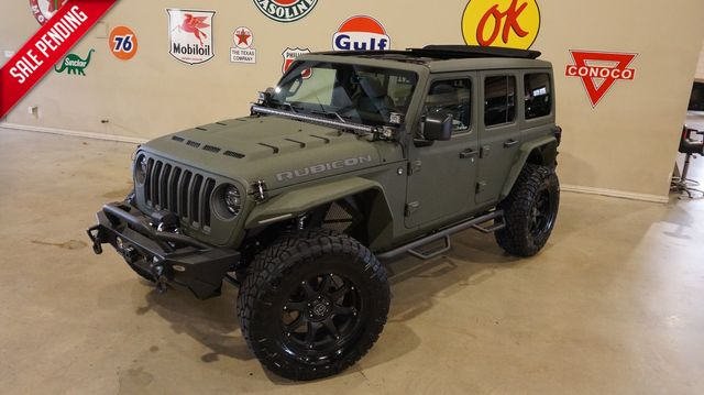 2020 Jeep Wrangler JL Unlimited Rubicon 4X4 SKY TOP,DUPONT KEVLAR,LIFT,LED'S in Carrollton, TX 75006