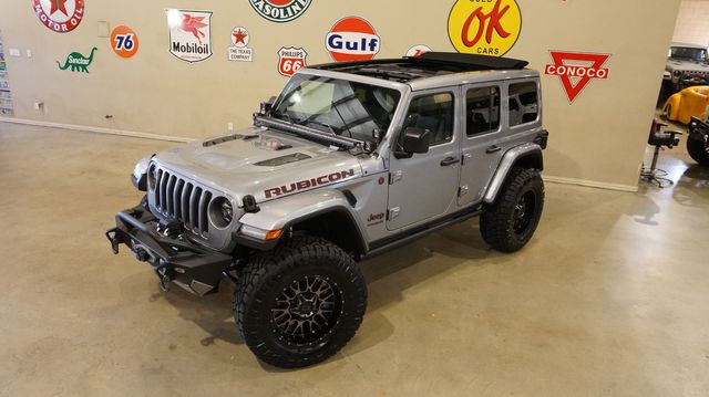 2020 Jeep Wrangler JL Unlimited Rubicon 4X4 SKY TOP,LIFTED,BUMPERS,LED'S