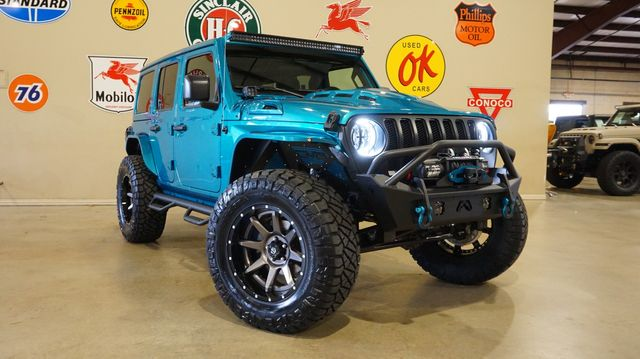 2020 Jeep Wrangler JL Unlimited Sport 4X4 LIFTED,BUMPERS,LED'S,FUEL WHLS