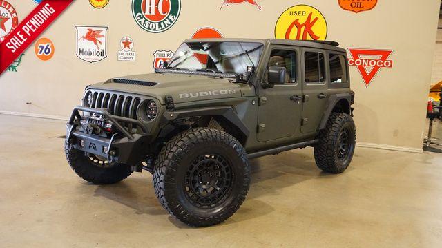2020 Jeep Wrangler JL Unlimited Rubicon 4X4 RARE DIESEL,SKY TOP,KEVLAR in Carrollton, TX 75006