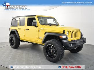 2020 Jeep Wrangler Unlimited Sport NEW LIFT/CUSTOM WHEELS AND TIRES in McKinney, Texas 75070