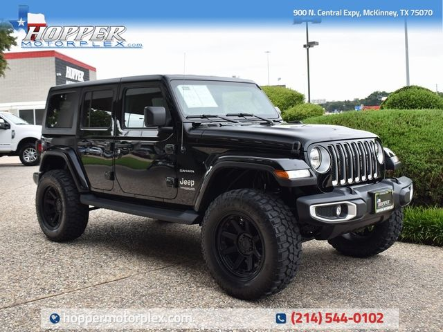 2020 Jeep Wrangler Unlimited Sahara NEW LIFT CUSTOM WHEELS AND TIRES