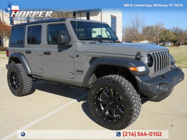 2020 Jeep Wrangler Unlimited Sport Altitude NEW LIFT/WHEELS AND TIRES