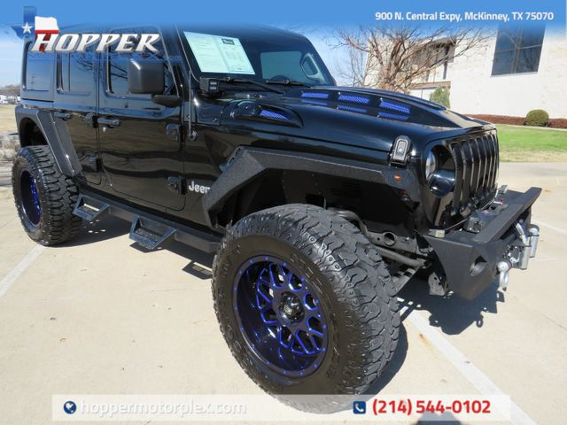 2020 Jeep Wrangler Unlimited Sport Custom Lift, Wheels and Tires