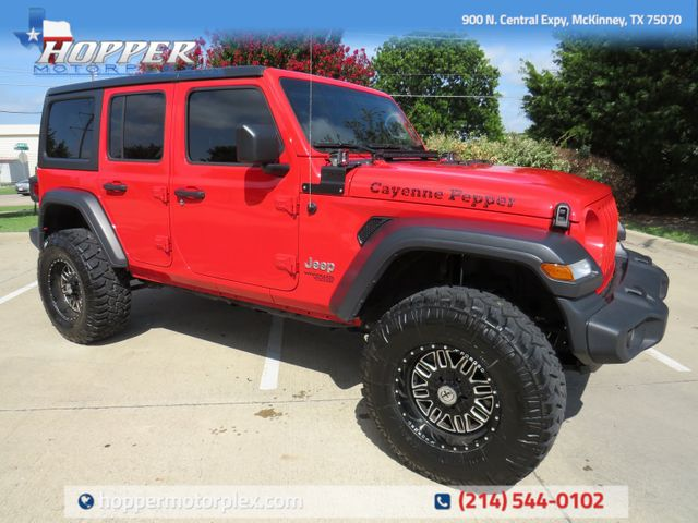 2020 Jeep Wrangler Unlimited Sport S NEW LIFT/CUSTOM WHEELS AND TIRES