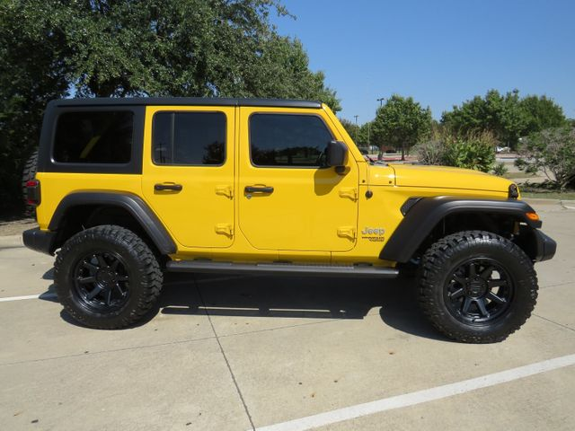 2020 Jeep Wrangler Unlimited Sport S NEW LIFT/CUSTOM WHEELS AND TIRES in McKinney, Texas 75070