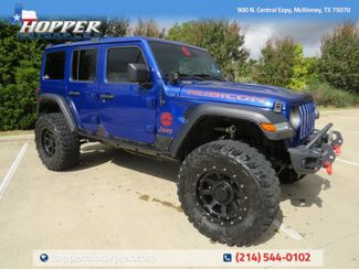 2020 Jeep Wrangler Unlimited Rubicon Custom Lift, Wheels and Tires in McKinney, Texas 75070