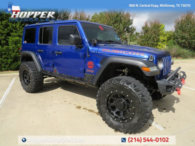 2020 Jeep Wrangler Unlimited Rubicon Custom Lift, Wheels and Tires