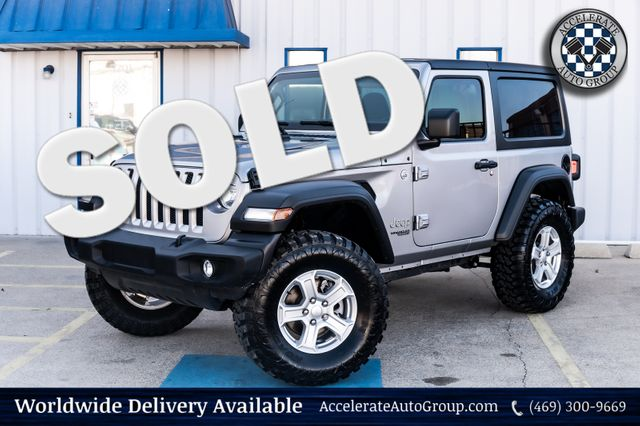 2020 Jeep Wrangler SPORT S AUTO TRANS PERF PKG HARD TOP POWER OPTIONS in Rowlett