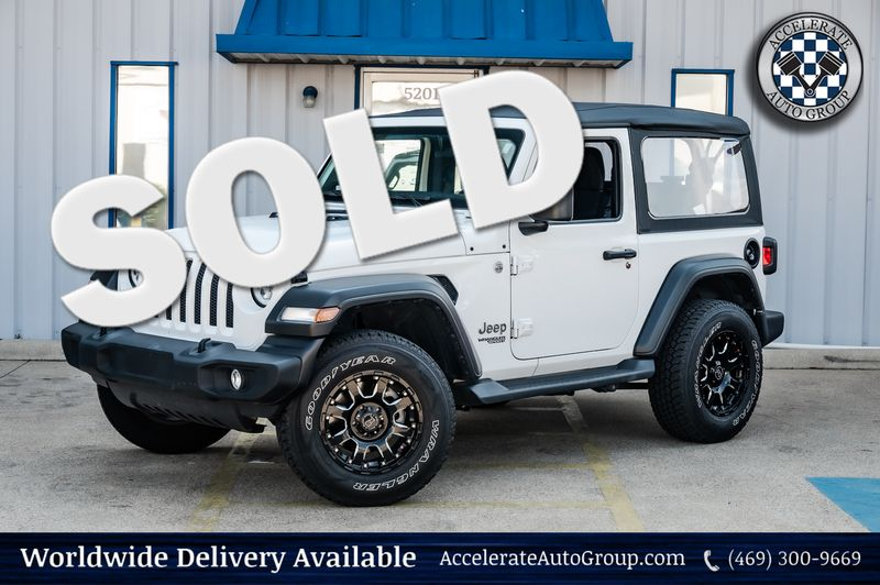 2020 Jeep Wrangler 2.0L 4-CYL TURBO SPORT SOFT TOP 4WD 1-OWNER in Rowlett Texas