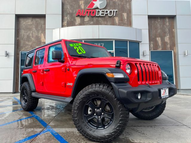 2020 Jeep Wrangler Unlimited Sport S in Calexico, CA 92231