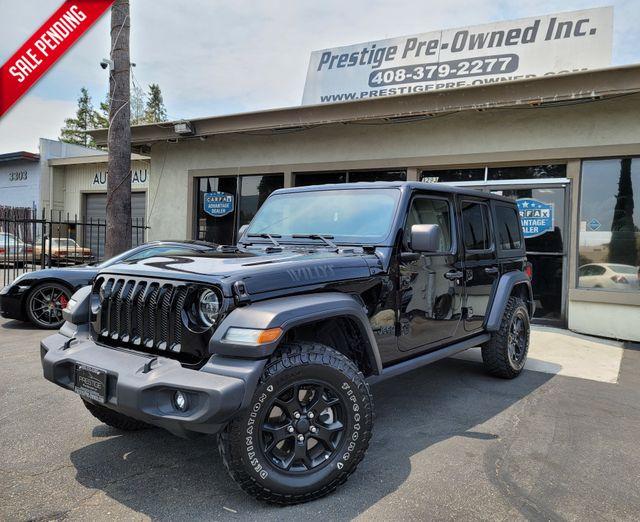 2020 Jeep Wrangler Unlimited Willys