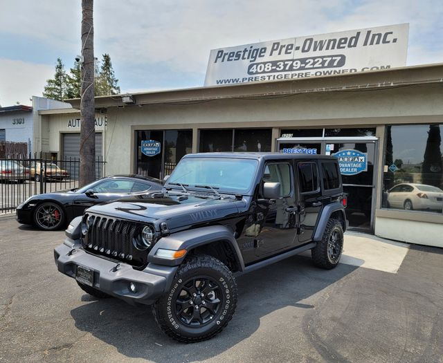2020 Jeep Wrangler Unlimited Willys in Campbell, CA 95008