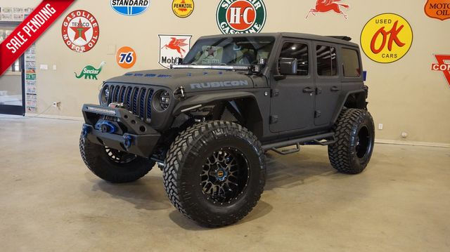 2020 Jeep Wrangler Unlimited Rubicon 4X4 DEMON MTR,SKY TOP,KEVLAR,LIFT