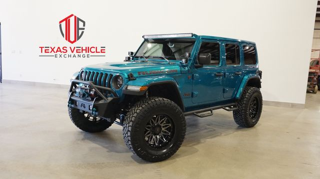 2020 Jeep Wrangler Unlimited Rubicon 4X4 LIFTED,BUMPERS,LED'S,20IN WHLS