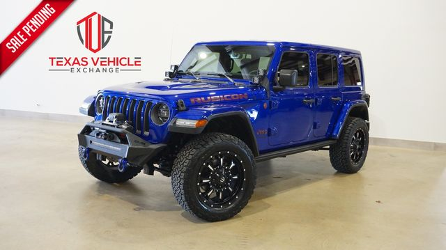 2020 Jeep Wrangler Unlimited Rubicon 4X4 LED'S,NAV,HTD LTH,FUEL WHLS