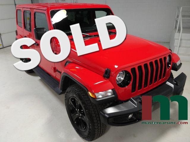 2020 Jeep Wrangler Unlimited Sahara Altitude   Granite City, Illinois   MasterCars Company Inc. in Granite City Illinois