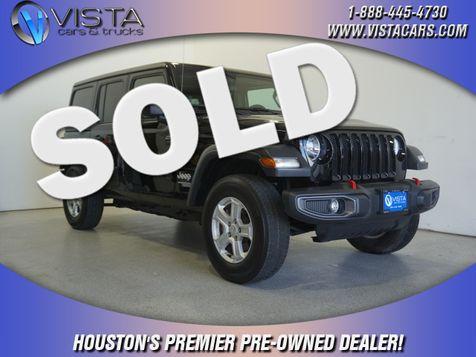 2020 Jeep Wrangler Unlimited Sport S in Houston, Texas