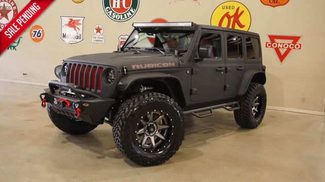 2020 Jeep Wrangler Unlimited JL Rubicon 4X4 DUPONT KEVLAR,LIFTED,LED'S