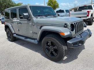 2020 Jeep Wrangler Unlimited SAHARA ALTITUDE NAV ALPINE HEATED SEATS LOADED  Plant City Florida  Bayshore Automotive   in Plant City, Florida