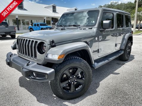 2020 Jeep Wrangler Unlimited SAHARA ALTITUDE NAV ALPINE HEATED SEATS LOADED in Plant City, Florida