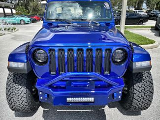 2020 Jeep Wrangler Unlimited CUSTOM SAHARA LEATHER NAV HARDTOP ALPINE   Plant City Florida  Bayshore Automotive   in Plant City, Florida