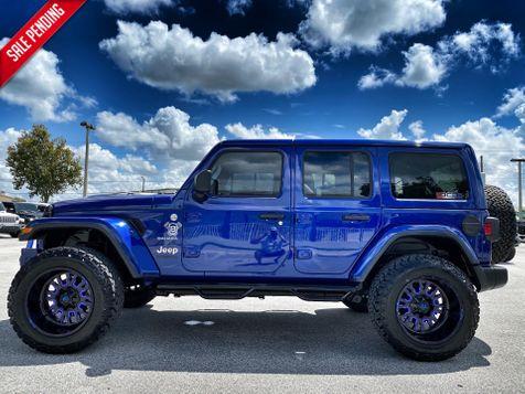 2020 Jeep Wrangler Unlimited CUSTOM SAHARA LEATHER NAV HARDTOP ALPINE  in Plant City, Florida