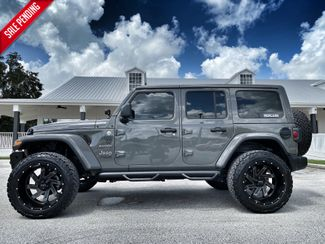2020 Jeep Wrangler Unlimited STINGRAY SAHARA LIFTED LEATHER NAV ALPINE 35s  Plant City Florida  Bayshore Automotive   in Plant City, Florida
