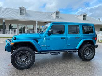 2020 Jeep Wrangler Unlimited CUSTOM BIKINI SAHARA LEATHER NAV ALPINE OCD  Plant City Florida  Bayshore Automotive   in Plant City, Florida