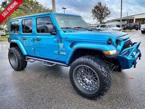 2020 Jeep Wrangler Unlimited CUSTOM BIKINI SAHARA LEATHER NAV ALPINE OCD in Plant City, Florida