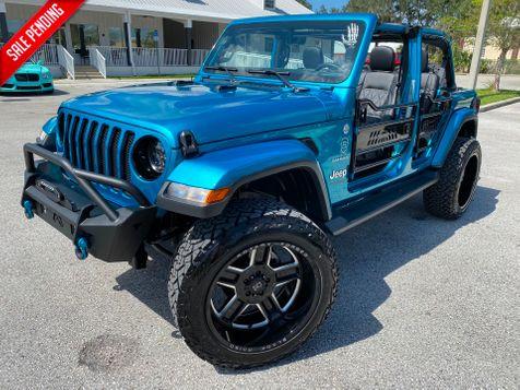 2020 Jeep Wrangler Unlimited BIKINI TURBO SAHARANAV ALPINE HARDTOP  in Plant City, Florida