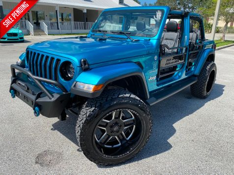 2020 Jeep Wrangler Unlimited BIKINI TURBO SAHARANAV ALPINE HARDTOP  in Plant City, Florida